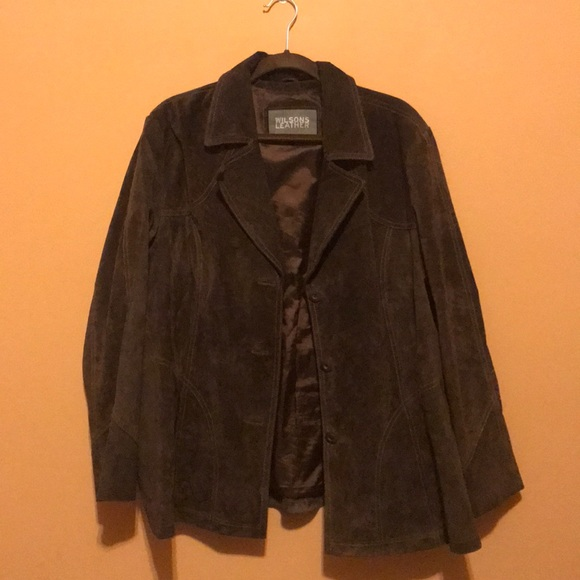 Jackets & Blazers - Wilson's Leather Brown Jacket